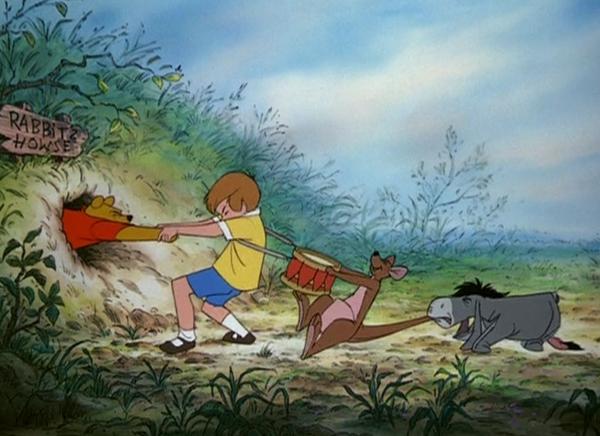 pooh pulling